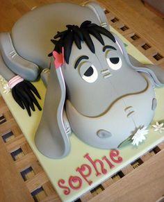 Eeyore birthday cake by The Designer Cake Company, via Flickr