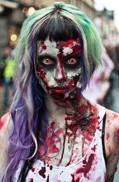 Crazy Halloween Makeup to Try this Year