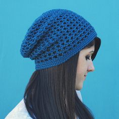 Crochet V Stitch Hat : , mesh hat pattern! It?s a bit different than my other slouchy hats ...