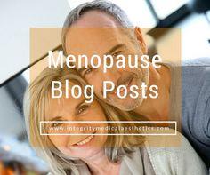 Menopause Blog Posts - Weight Loss, Painful Sex, Vaginal Dryness, UTI's...