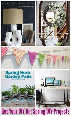How to sew a simple double-sided DIY Pennant Banner.