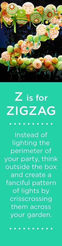 Z is for ZIGZAG