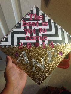 My high school graduation cap. Class of 2014.