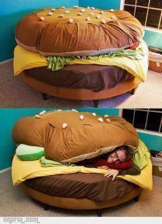 Haha! Cool bed!