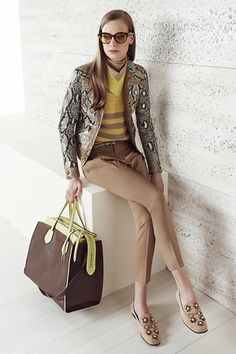 Gucci Resort 2015 Collection Slideshow on Style.com