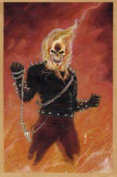 Ghost Rider by Garrie Gastonny *