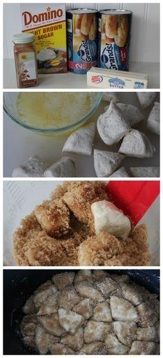 Crockpot Monkey Bread - A Spark of Creativity