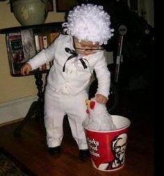 Baby colonel sanders!!