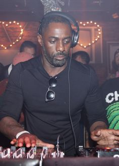 Idris Elba DJ's the Skream 4 Rhonda event at Sound Nightclub on March 3, 2017 in Los Angeles, California.