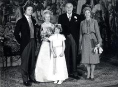 Boda del príncipe heredero Gustavo Adolfo y bodas de sus hermanos la princesa Ingrid y el príncipe Bertil