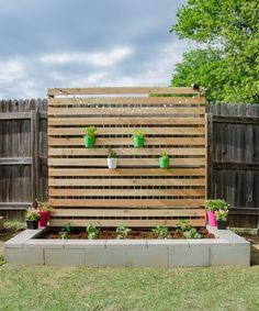 Concrete and Cedar DIY Raised Garden Bed Tutorial