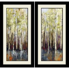 Found it at Joss & Main - Forest Whisper Framed Painting Print
