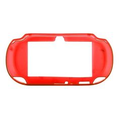 Silicone Shell - Medium Hard (Röd) Sony PlayStation Vita-Skydd