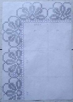 Závitové háčkovanie časopisov na čítanie vzory - Háčkovanie Filet