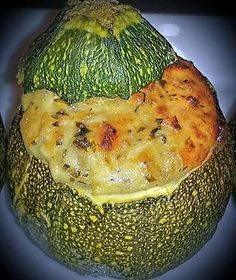 The best recipe of zucchini stuffed with feta! Vegan Vegetarian, Vegetarian Recipes, Cooking Recipes, Healthy Recipes, Feta, Healthy Diners, Cuisine Diverse, Juice Plus, Brin