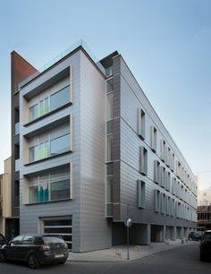 Apartment Building on G.Călinescu Street   Architect:  Westfourth Architecture   Bucharest, Romania