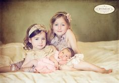 Photo Poses For Siblings | Great pose for siblings by SarahHardyParty