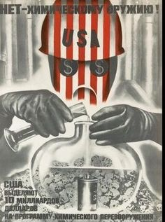 Soviet poster // from BBC