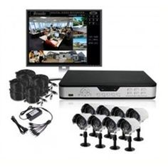 Zmodo DVR-DK0890-1TB 8-Channel Complete Security Camera DVR Kit - H.264 - 3G Mobile by Zmodo. $569.48. DVR-DK0890-1TB is an 8 camera surveillance package which includes everything you need to have your surveillance system up and running in your home or businesses quickly and easily. This is a professional grade kit for your small and medium size business. The DVR included in this kit, DVR-H9108V, is a real time security digital recording system based on the latest technology o...