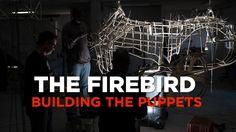Firebird puppet studio visit