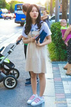 ....?.... Ioi, Day6, Role Models, White Dress, Cute, Pastel, Dresses, Character, Design