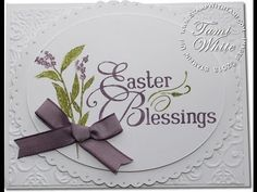 stampin up easter cards | Garden Stamp Set - Easter Blessings Stampin' Up! Easter Blessings Card ...