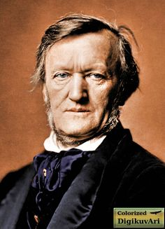 Wilhelm Richard Wagner , color, colorized, colorization