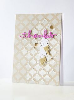 Gorgeous card by Andreea using some Simon Says Stamp Exclusive dies.
