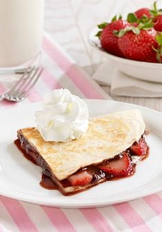 This easy Strawberry and Chocolate Dessert Quesadilla is sure to become a go-to recipe in your home.