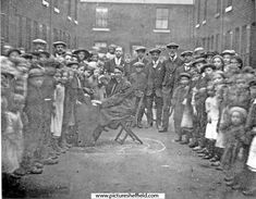 An open air- service in the East End of Sheffield Sources Of Iron, South Yorkshire, Derbyshire, Sheffield, Victorian Era, Old And New, Age, History, Detail
