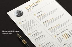 Cv-Resume II by Estartshop on Creative Market
