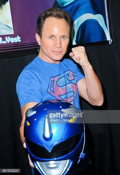 Actor David Yost attends Day 2 of the Third Annual Stan Lee's. Power Rangers 1995, David Yost, Jason David Frank, Tommy Oliver, Los Angeles Convention Center, Mighty Morphin Power Rangers, Stan Lee, Celebrity Crush, Actors & Actresses