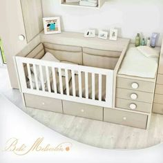 modern baby bed design ideas for nursery furniture sets 2019 Baby Bedroom, Baby Boy Rooms, Baby Room Decor, Baby Boy Nurseries, Baby Cribs, Kids Bedroom, Baby Crib Designs, Baby Room Design, Bed Design