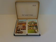 Vintage Piatnik Set of Playing Cards. Scenes of Salzburg are Featured on the 2 Decks. by LeObjectUnique on Etsy