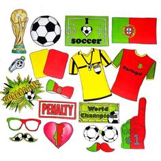 e16b1c88171 World Cup PORTUGAL soccer photo booth props - the ultimate fan accessory -  2018 FIFA Soccer Championship in Russia - support Portugal