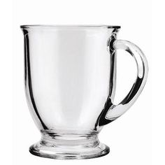 Mugs 20695: Anchor Hocking Café Glass Coffee Mugs, 16 Oz (Set Of 6) New -> BUY IT NOW ONLY: $31.09 on eBay!