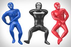 Give your next bottle of suds the Mexican wrestling treatment with one of these Luchador Bottle Openers. Designed by Andres lhima, they come in either blue, red, or black, are made from a stainless steel and ABS with a rubberized coating, and apply one of three lock holds to your bottle for opening. The only bummer? The color and design is random and chosen at shipping, so you might find yourself going through several returns before snagging a particular model.