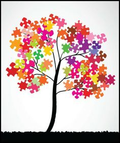 """The Writing Journey //  Blogger:Jan Thompson  """"My heart is inditing a good matter: I speak of the things which I have made touching the king: ...  Puzzle tree image courtesy of 89studio at FreeDigitalPhotos.net"""