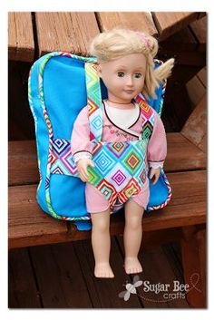 Backpack and Doll Carrier – gift idea!!