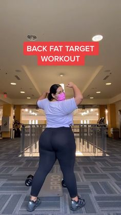 Gym Workout Videos, Gym Workout For Beginners, Fitness Workout For Women, Gym Workouts, Back Fat Workout, Slim Waist Workout, Butt Workout, Summer Body Workouts, Weight Loss Workout Plan