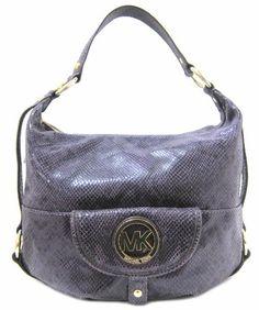 019bdb86f262 Michael Kors Fulton Large Python Embossed Leather Shoulder Bag