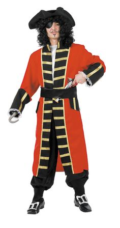 disfraz de capitan joock