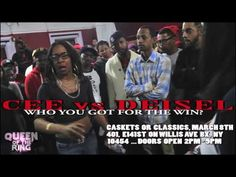 """QUEEN OF THE RING """"CASKETS OR CLASSICS"""" CEE vs DESIEL (WHO YOU GOT FOR THE WIN?)"""
