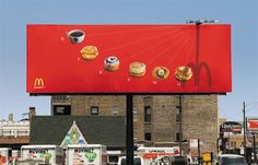 """Brand is visible? Yes Products are visible? Yes  Call to action due to limited time? Yes.   McD's gets an """"A-""""  5 Star rating for this one.   My only complaint,  where is the closest Mc'Ds?"""