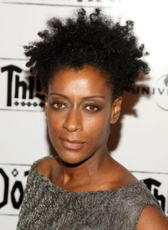 Joie Lee has been sportin' natural hair since back in the day when we were doing the fried, dyed, and laid to the side thang.