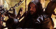 Animated gif shared by Yasmin. Find images and videos about the hobbit, kili and aidan turner on We Heart It - the app to get lost in what you love. Fili Y Kili, Kili And Tauriel, The Hobbit Movies, O Hobbit, Legolas, Aidan Turner Kili, Aiden Turner, Midle Earth, The Misty Mountains Cold