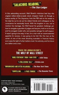 Catching the Wolf of Wall Street: More Incredible True Stories of Fortunes, Schemes, Parties, and Prison: Jordan Belfort: 9780553385441: Amazon.com: Books
