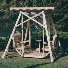 Like an Adirondack chair or a picnic table a glider swing is a backyard classic that never goes out of style Perfect for relaxing in the great outdoors a glider is a great way