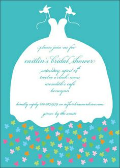 Fairy Tale Bridal Shower Invitations from TheStationeryStudio.com
