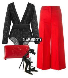 """Untitled #518"" by glamandcity ❤ liked on Polyvore featuring Sonia Rykiel, Eres, Gucci and Dsquared2"